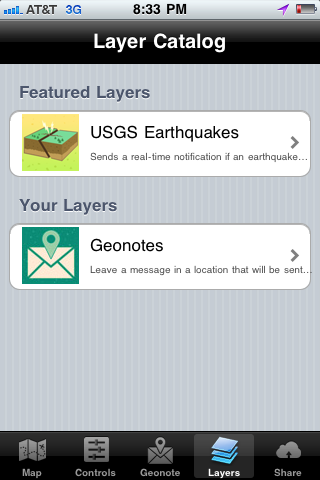 Geoloqi Layer Catalog
