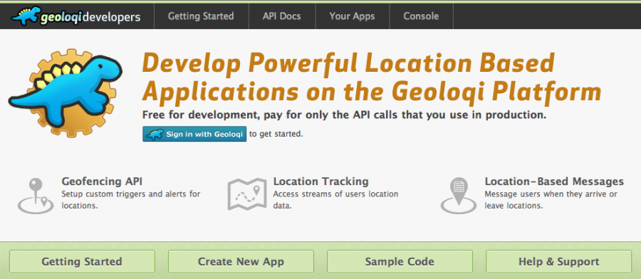 Geoloqi Developer Site