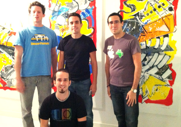 Gorilla Cab - 1st Prize Winners at the AT&T Geoloqi Hackathon in Miami