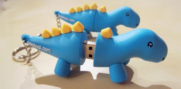 Geoloqi USB Drives at Google I/O!