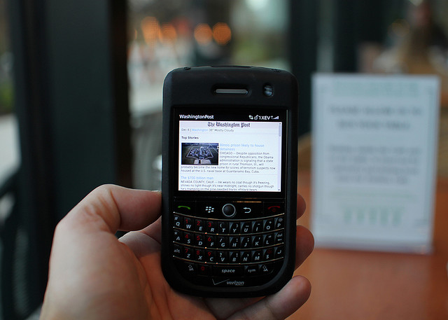 Blackberry photo by Mr. T in DC on Flickr